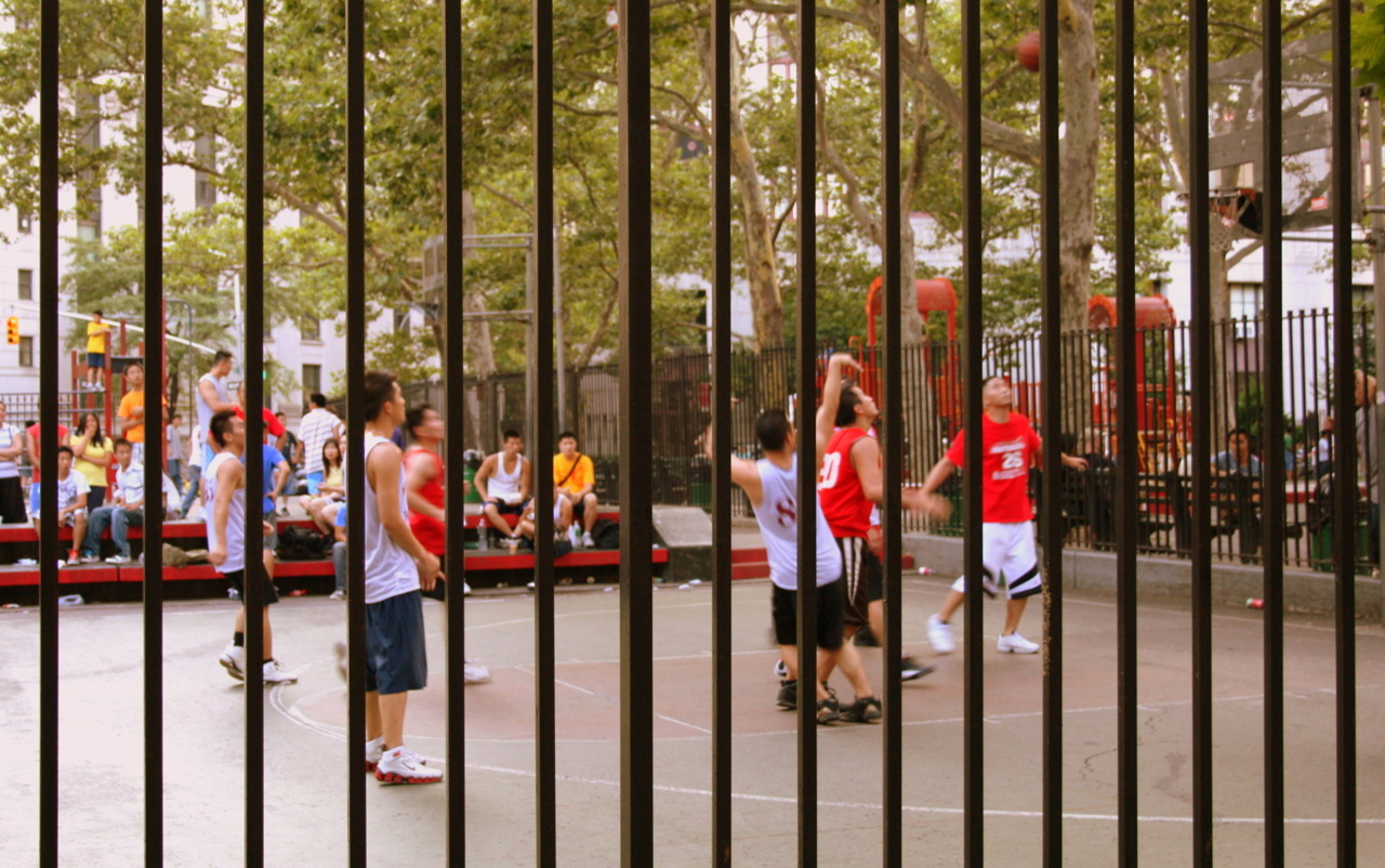 Basketball game, New York, 2008