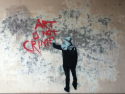 no, it's not banksy.