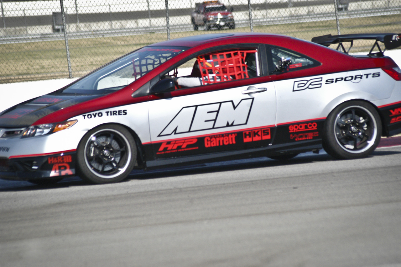 8th Gen Honda Civic Si FG2 AEM track car