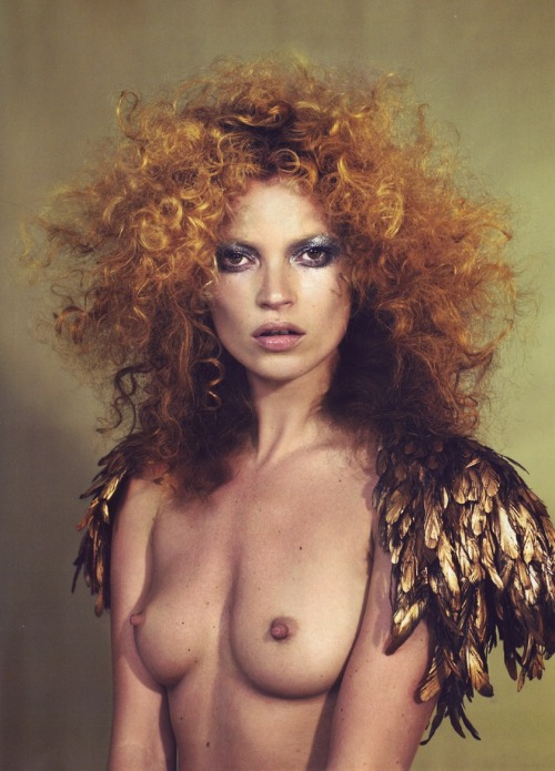 fromobscuretodemure:  Kate Moss by Mert & Marcus for POP Magazine F/W 2006.  Ange
