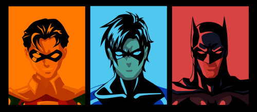 Evolution of Dick Grayson by ~qBATMANp