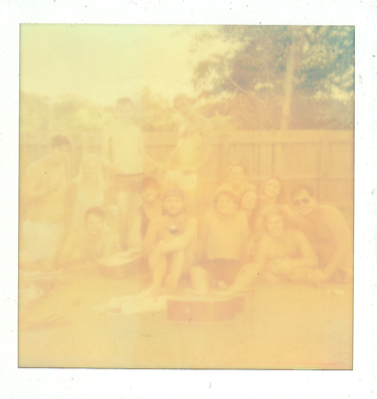 Byron Gang. Over exposed polaroid. Jan 2012