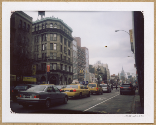 POLAROID LAND CAMERA: Why is old stuff so beautiful? Why is it that NYC's decrepit buildings are so intriguing?