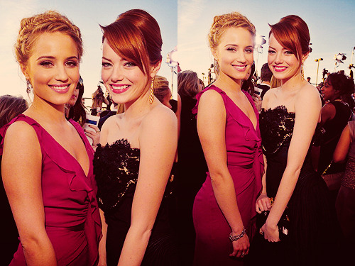 Emma Stone & Dianna Agron | Screen Actors' Guild Awards (2012)