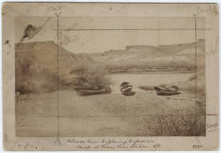 mpdrolet:  Colorado River exploring expedition, boats at Green River Station, 1871 E.O Beaman