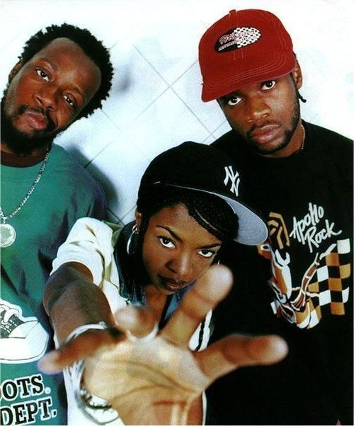 The Fugees Wyclef Jean, Lauryn Hill, & Pras Michel