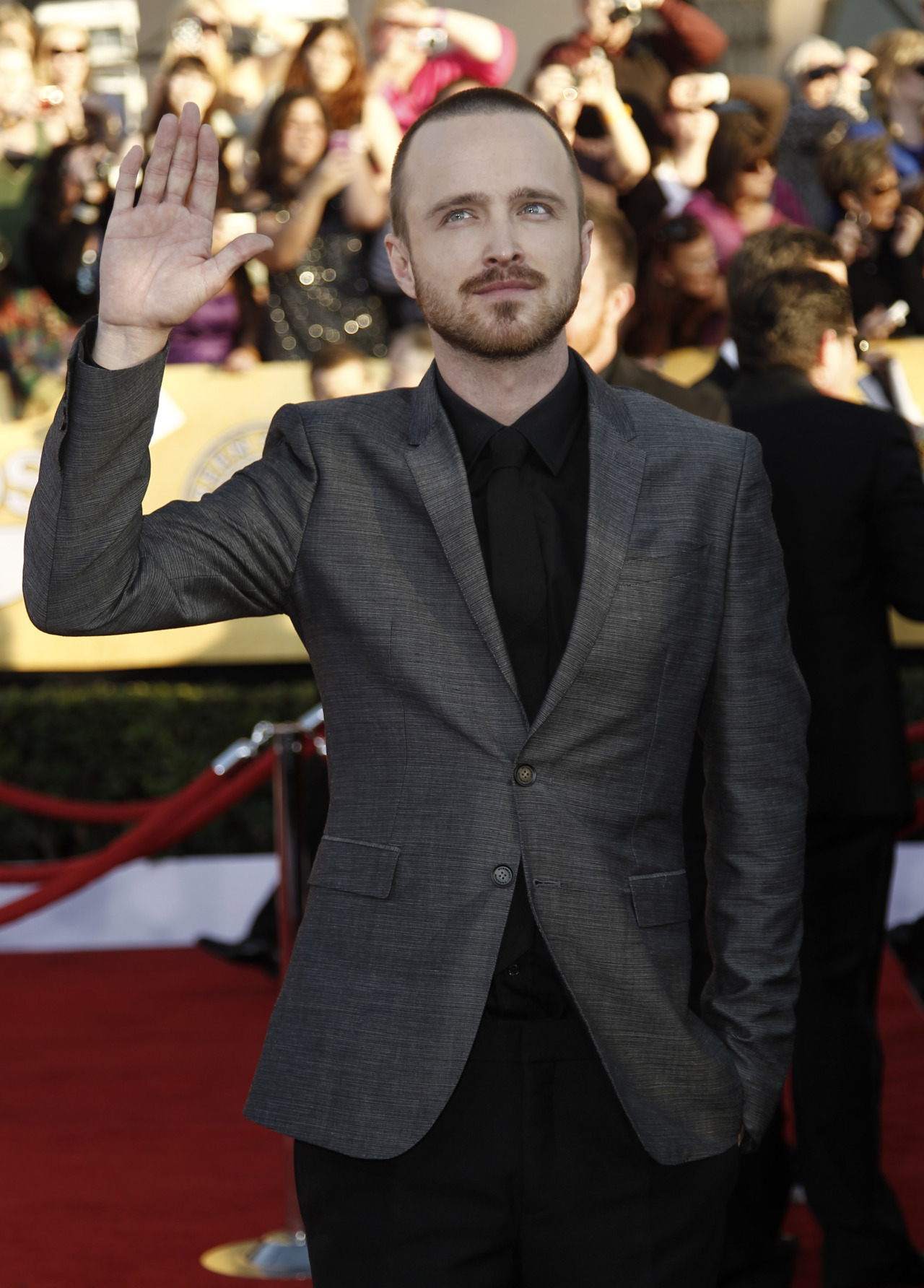 Aaron Paul - 2012 SAG Awards That is one handsome man, bitch!