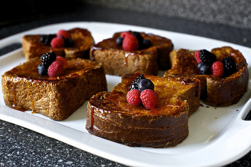 fraishe:  creme brulee french toast (by smitten)