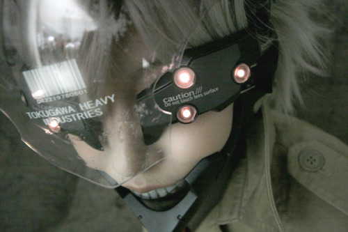 Metal Gear Solid 4 : Raiden FaceCam Cosplayed by Omi Gibson as Raiden Photography by ??