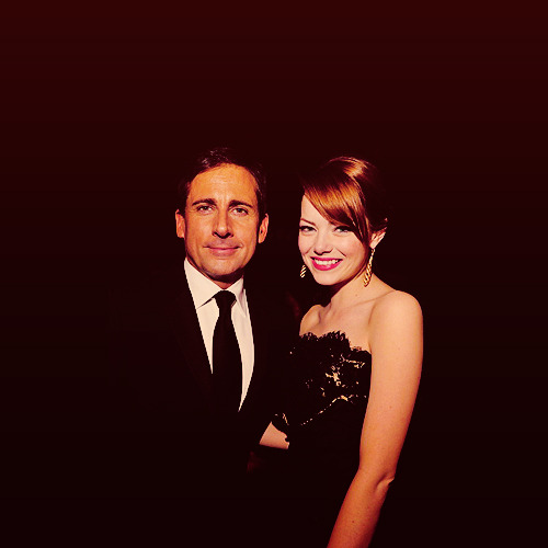 Steve Carell and Emma Stone | Screen Actors' Guild Awards (2012)