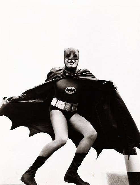 Adam West as Batman (1960's)