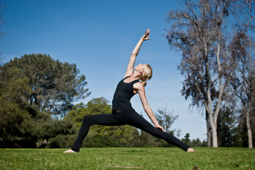 whollyyoga:   Yoga | Flickr - Photo Sharing!flickr.com  Reverse warrior