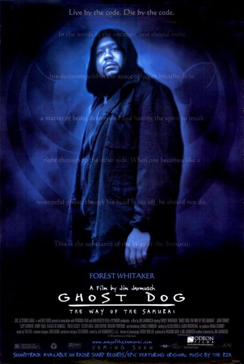 "Ghost Dog, The way of the samurai  (1999) ""An African American mafia hit man who models himself after the samurai of old finds himself targeted for death by the mob""."