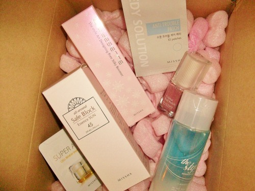 My Missha package arrived! SWEET!