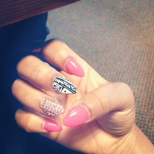 prettynailswag:  sydneysquared submitted ************************************** another dope submission from sydneysquared