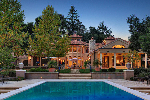 Beautiful Mansions With Pools beautiful luxury mansi...