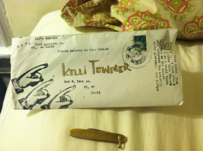 A post and a pocket knife. Thank you for spelling my name right. My hand  smells like beef arm, my souls are worn through and my train is now arriving. I miss my bike and where we use to go. I'm so thrilled about grass fed. How did I luck into this whole side of cow?  Oh, side note… Try to avoid 70 year old chocolate bars from the bodega under the stairs, found in the 8th ave subway station.   But by all means continue on the trend of mast brothers salted dark chocolate bars.