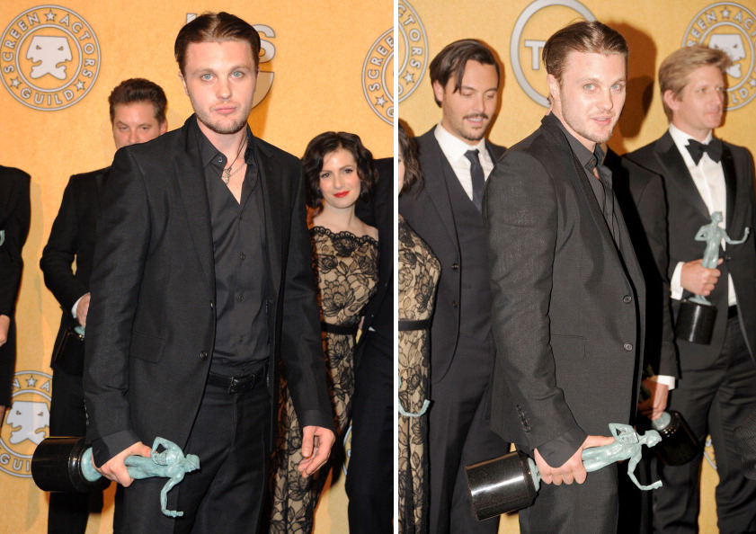 bohemea:  NEVER BEEN HAPPIER!  I SEE YOU LOOKING AT MICHAEL PITT'S BUTT THERE JACK HUSTON