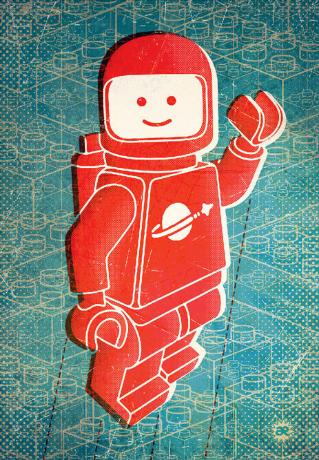 Hello Spaceboy Poster 20x30in via byAndreas on Etsy