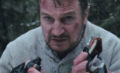 "drinkyourjuice:  Things Liam Neeson said in The Grey: bro swag no mas Things the wolves said in The Grey: l-ooooooooooo-l  There's a scene near the end of The Grey when one of the characters is like, ""Yo guys I can't do this anymore. I give up. Y'all go on ahead. I'm just gonna sit on this stump and stare at the mountains and the river."" Another character is like, ""Yo but we only have to walk one more mile,"" but he's like, ""Nah. Can't walk anymore. Give up."" Then Christine looks at the river behind him and says (to the screen), ""Just float. Hope floats."" Then I bang my fist on the armrest and laugh for a few seconds. ~The Grey~"