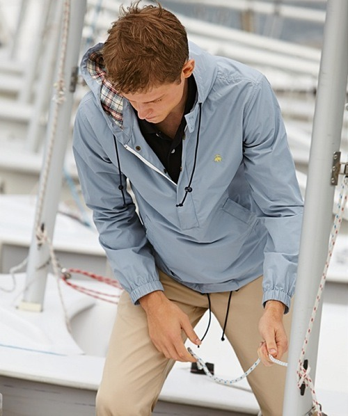 Brooks Brothers Pre-Spring 2012 Featuring the Laguna Pullover Jacket