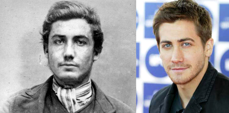 John Allan, convicted criminal c. 1870, and Jake Gyllenhaall