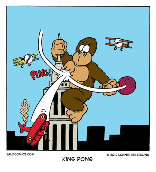 King Pong Lonnie Easterling, en Spud Comics, http://spudcomics.com/