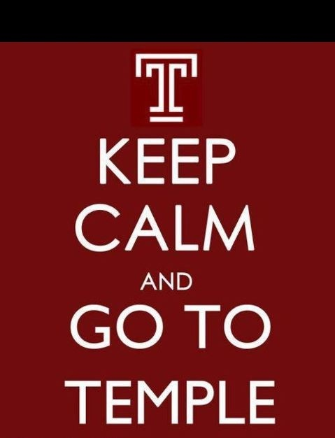templeuniv:  We love this new meme : Keep calm and go to ']['emple!  LOLOLOLOLOLOLOLOL