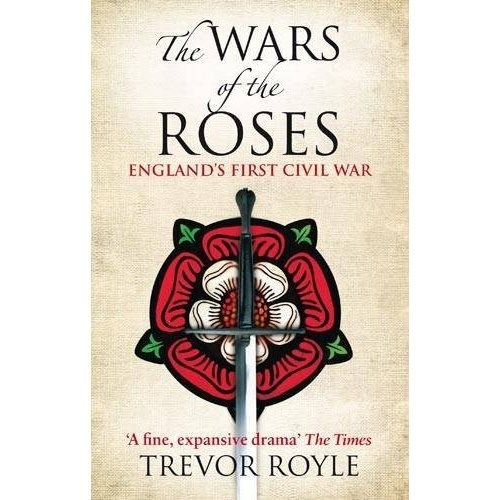The Wars of the Roses, by Trevor Royle Just stop it. If you are a serious medievalist and judging my choice of histories, just stop it. I needed a readable, concise overview of what the hell happened in England from the death of Edward III to the coronation of Henry Tudor (aka Henry VII). I did not need deep nuance or subtlety, just the basic who killed who and vaguely why and Royle fit the bill. Moreover, I thought he did a great job expressing the gist of a series of conflicts that are rather obtuse to the modern mind. Even the names are hard. One must carefully keep track of when a person goes from being a man to a place. The various members of the Percy family can be 'Percy' or 'Northumberland,' same with York, Lancaster, etc. Royle's helpful index at the back is useful and he does a good job making clear just who is who. Really, the picture one takes away is of a drastically small circle. Everyone marries everyone, and really this is a family squabble that consumes a nation. It's funny, though, who we remember. Poor old John of Gaunt. I think he'd have been a splendid king. Anyhow, for anyone who wants to brush up on this period, or just read a decent historical narrative, Royle's Wars of the Roses fits the bill nicely.