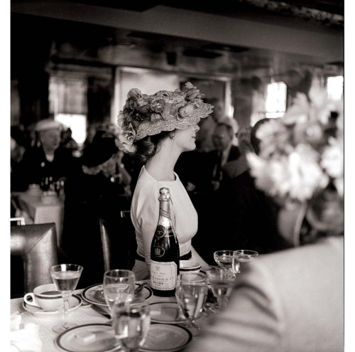 The Champagne Lady, 1957 by Maggie Diaz
