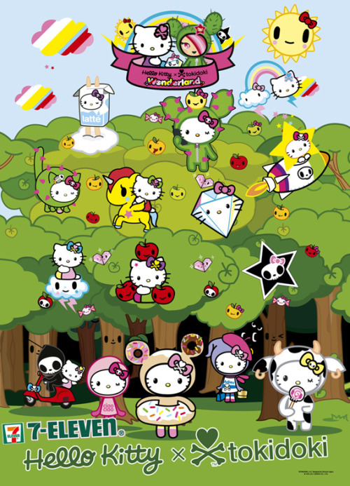 7-Eleven Hello Kitty x Tokidoki (Hong Kong Exclusive)