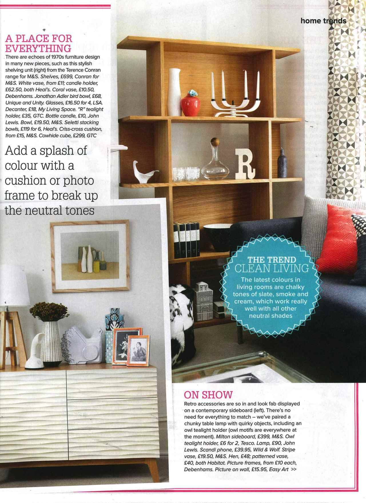 @lsa_int featured in Woman & Home. Click to shop!