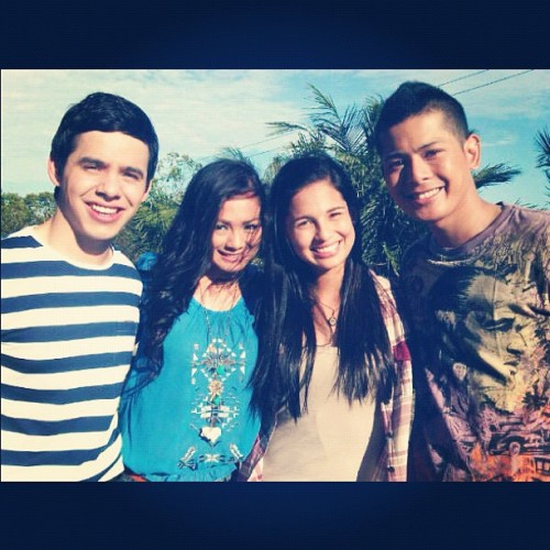 Josh, Holly, Anya & Mando :) #NanditoAko (Taken with instagram)