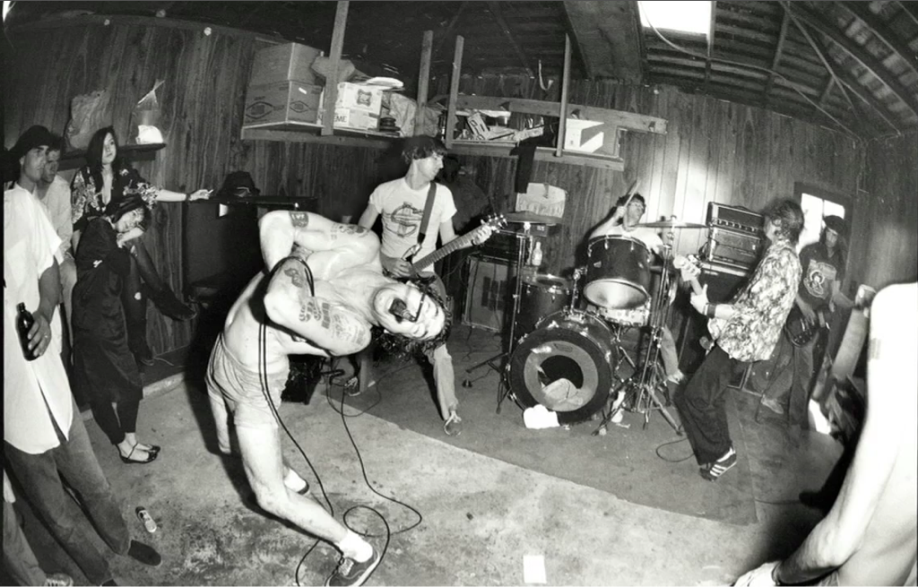 The iconic photography of Glen E. Friedman.  Band: Black Flag