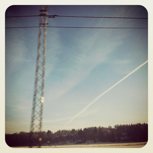 #janphotoaday nature - just arrived in sweden (Taken with instagram)