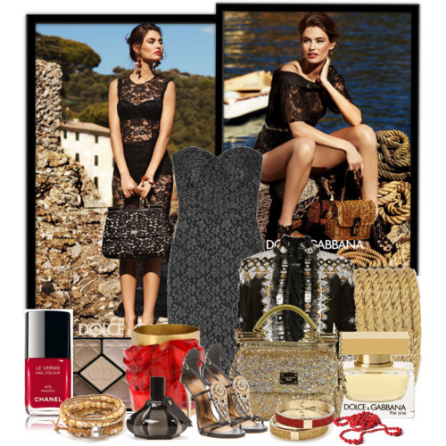 "Bianca Balti in dolce & gabbana by valentinaporta7 featuring strapless dressesDolce Gabbana strapless dress, £809Balmain suede jacket, $6,952Giuseppe Zanotti heeled sandals, £669Rodarte bracelet, $294Red necklace, €595Yves Saint Laurent gold plated jewelry, £365Chan Luu leather bangle, $205Betsey Johnson hinged bracelet, $40Comme des Garcons Stephen Jones Eau De Toilette -, $150Dolce&Gabbana 'The One' Eau de Parfum No Color 1.6 oz, $95CHANEL LE VERNIS NAIL COLOUR | Nordstrom.com, $25Dolce & Gabbana Bag ""MINI BAG"", $819"