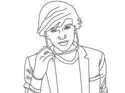 codysimpsongreecechrisla143:  Another Cody Simpson Lineart