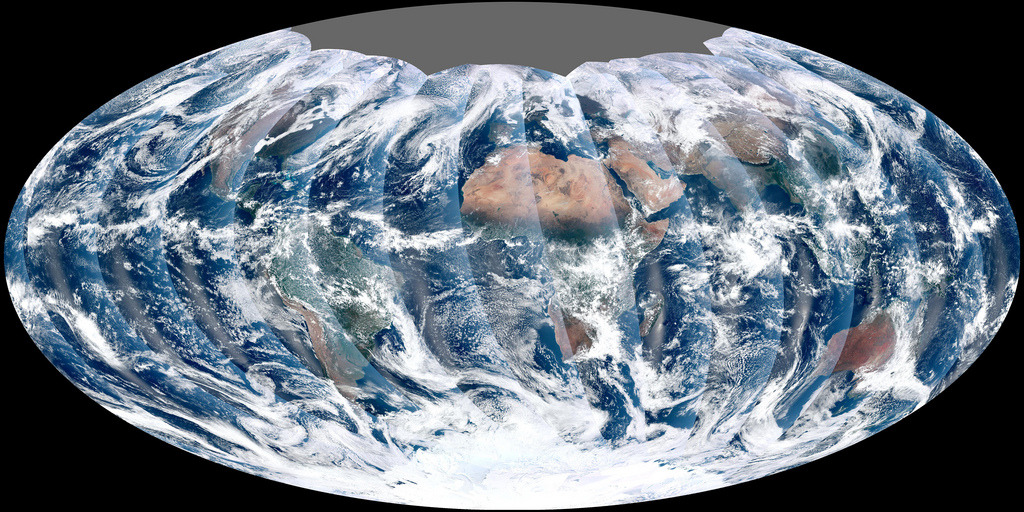 First Global Image from VIIRS (by NASA Goddard Photo and Video)