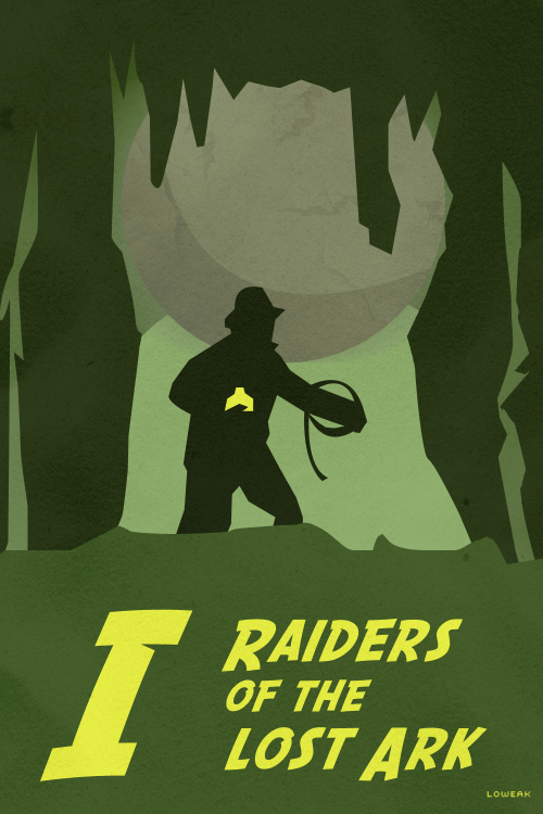 Today, A new collection : Indiana Jones Raiders of the Lost Ark Poster !