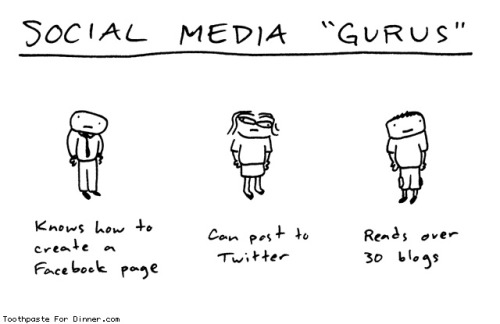 laughingsquid:  Social Media Gurus