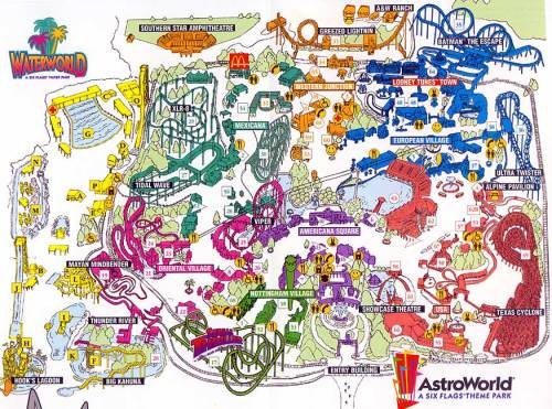 texashumor:  RIP Astroworld. (via Six Flags AstroWorld - 2000)