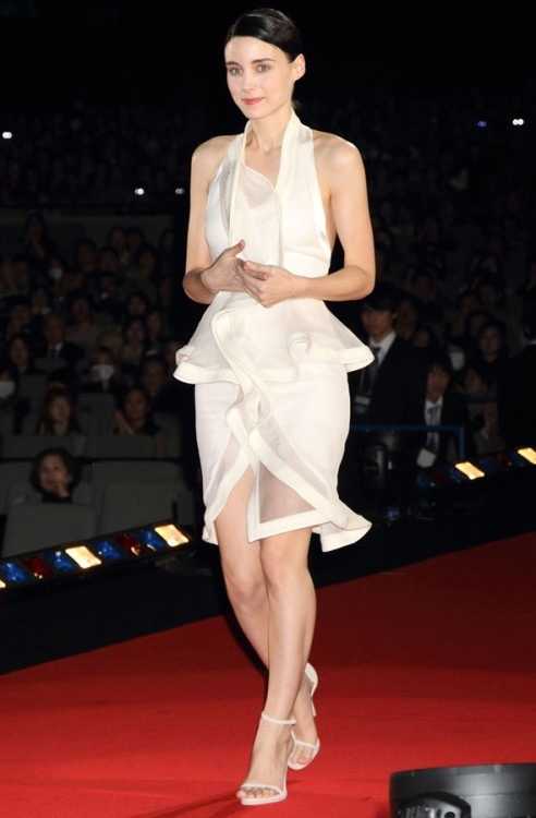 "Rooney Mara at ""The Girl with the Dragon Tattoo"" premiere in Tokyo,Jan. 30, 2012"