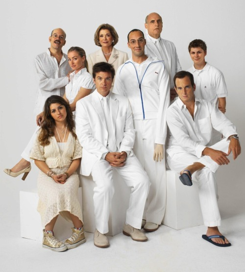 "caelias:  yay so excited thebluthcompany:  Full cast of 'Arrested Development' confirmed to return for new series and film The new series of  Arrested Development will feature the show's full original cast, writer Dean Lorey has confirmed. It was confirmed late last year that the cult comedy show would be returning for both another run on television and a big screen adaptation, but there were some doubts over which members of the cast would return. However, writing on his blog Deanlorey.com, the writer confirmed that the original cast would be returning and that the show was currently being written. He also said that the show would premiere on Netflix sometime next year. He wrote under the title of 'Arrested Development: New Season': ""We're really doing this thing. Mitch Hurwitz, Jim Vallely and I are off writing the new season of Arrested Development to premiere on Netflix in 2013. The original cast is back. There are offices and parking spaces. We're shooting this year. I wish I could give more specifics but, for the moment, even the schedule is being kept under wraps. But it's happening and it's great to be back with my pals from the show. More later as it becomes okay to release further details."""