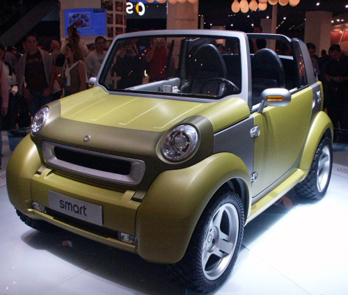 The Smart Crosstown never made it to production. Probably a good thing.