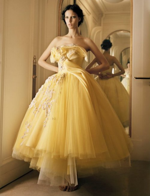 somethingvain:  Christian Dior Haute Couture S/S 2011, Mary Rozzi for E Couture