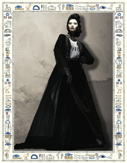 Ming Xi (Ford) | Fall 2012 Show Card (Creative direction: Paul Rowland; Photography, Sloan Laurits)