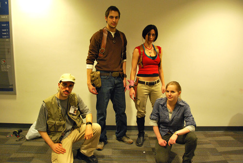 drderange:  Some quick pictures of our Uncharted 3 Multiplayer group from this past weekend.