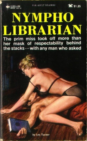 powells:  doubledaybooks:  Avi Steinberg on Erotic Librarians. theparisreview:  Checking Out   We were really hoping we had a copy of this, but sadly, no.