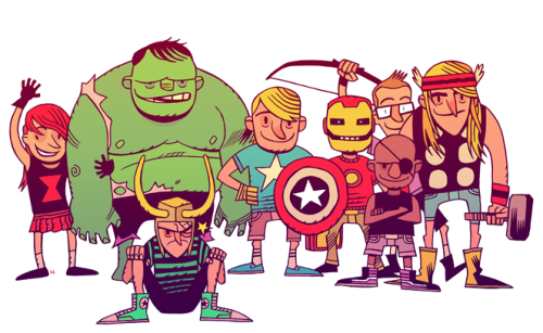 mrhipp:  AVENGIES ASSEMBLE