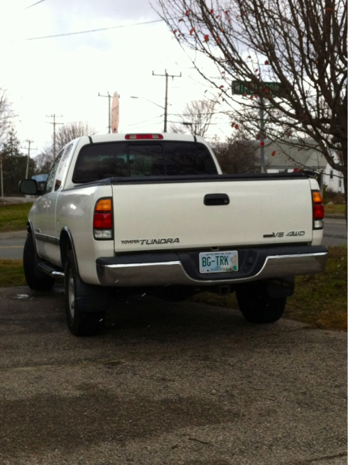"""BG-TRK"" - You know what they say about men with big trucks… bad gas mileage."